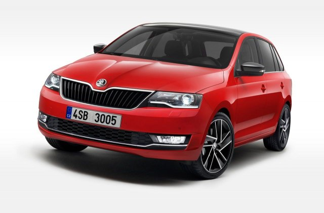 Škoda Rapid Spaceback 2017.