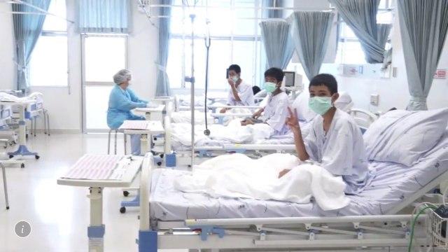 Tajlandski dečaci u četvrtak izlaze iz bolnice