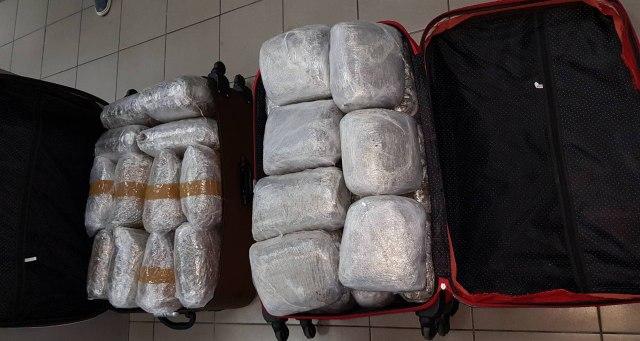Kruševljanin pokušao da unese 48 kg marihuane u Mađarsku