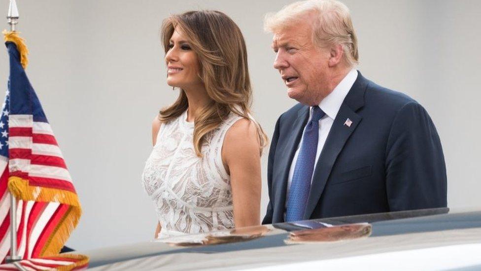 Tramp i njegova supruga Melanija prisustvovaće večeri u Čerčilovoj porodičnoj kući/AFP