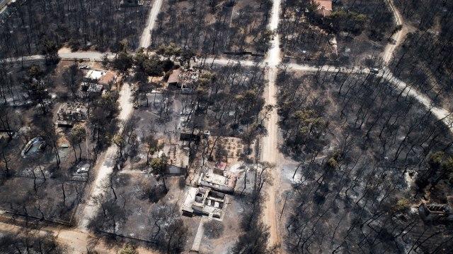 Grcka: Broj zrtava pozara povecan na 96