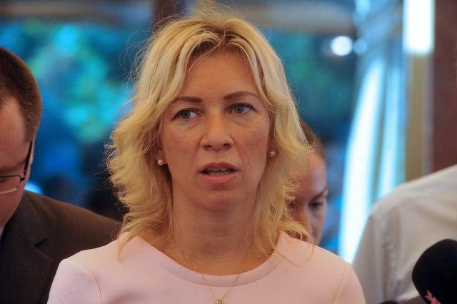 Zaharova: NATO agresoru kompenzacija, žrtvi ništa