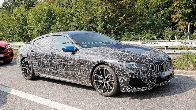 Pretprodukcijski BMW Serije 8 Gran Coupe (Foto: CarPix/Motor1)