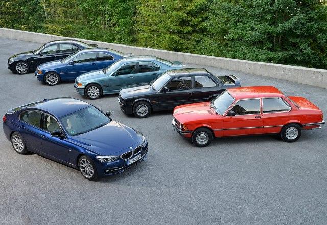 Svi dosadašnji modeli BMW-a Serije 3