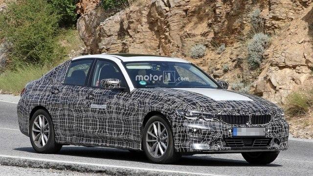 Pretprodukcijski BMW Serije 3 sedme generacije (Foto: CarPix/Motor1)