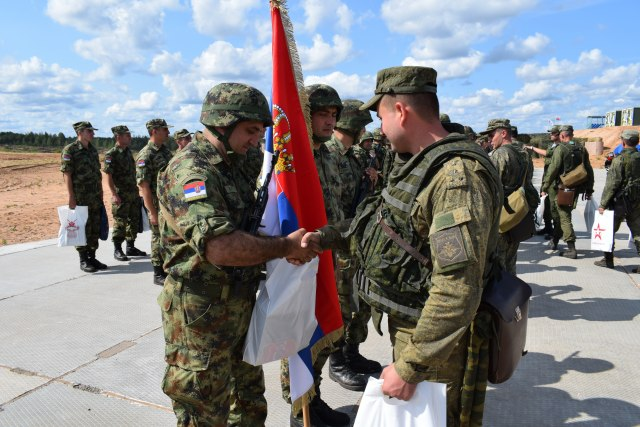 Vojska Srbije pokazala visoku spremnost na vežbi u Rusiji