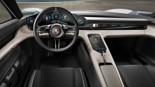 Porsche Mission E koncept iz 2015.