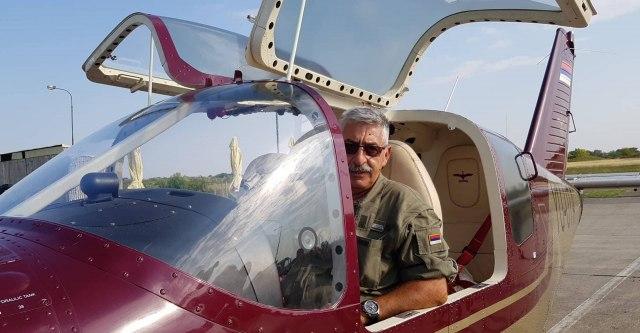 Pilot Zoran Španović (Foto: Prva, Katarina Ćorac)