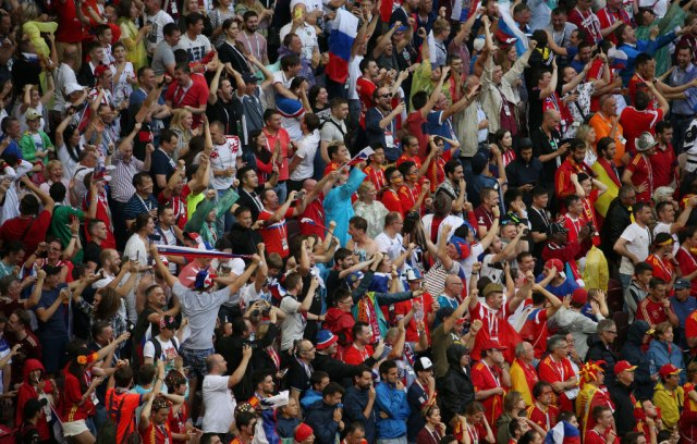 Srbija gostovala Rusima – rekordan broj ljudi na tribinama