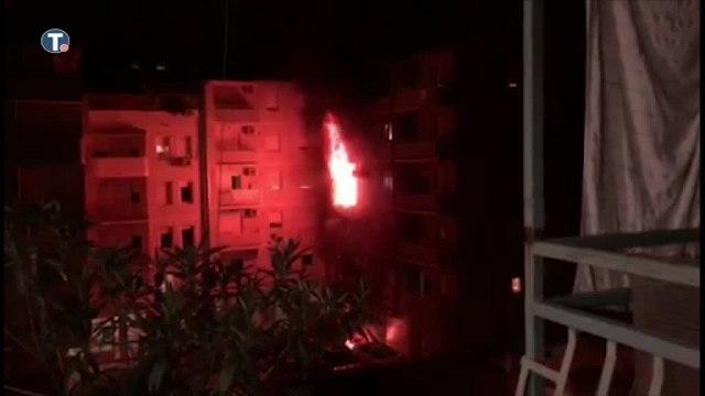 Eksplozija, požar, povređene tri osobe i vatrogasac VIDEO