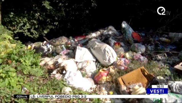 Divlje deponije u požeškom selu Rupeljevo VIDEO