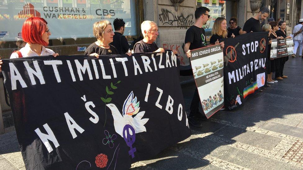 Protest je protekao mirno/BBC