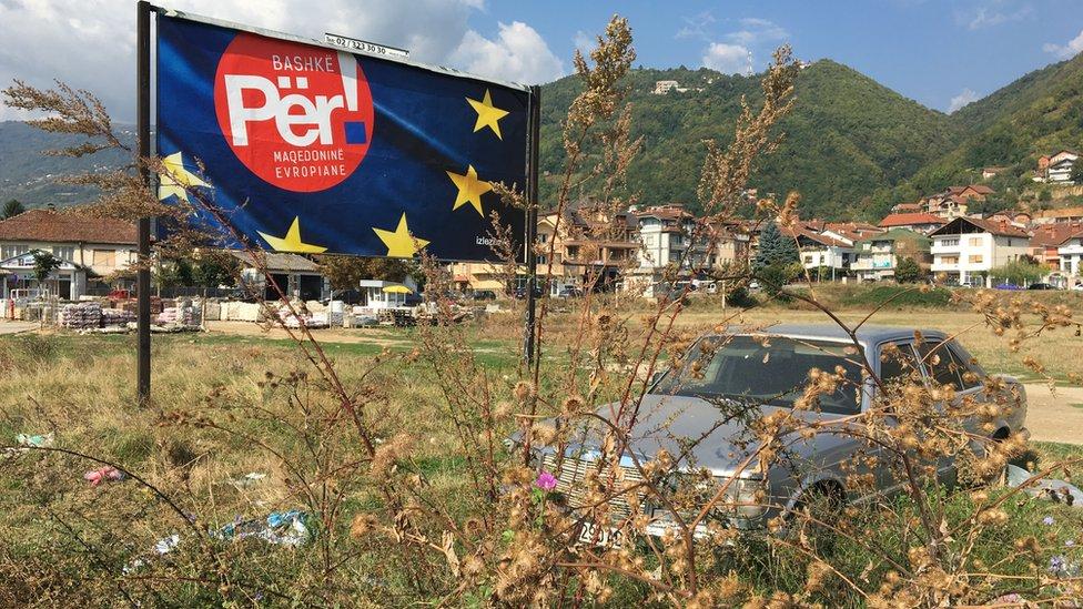 Snažna kampanja vođena je i u sredinama gde živi albanska zajednica, poput Tetova/BBC