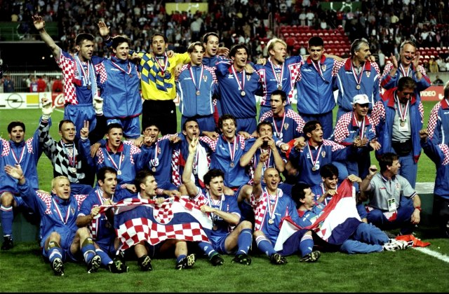 Reprezentacija Hrvatske na SP 1998. (Getty images)