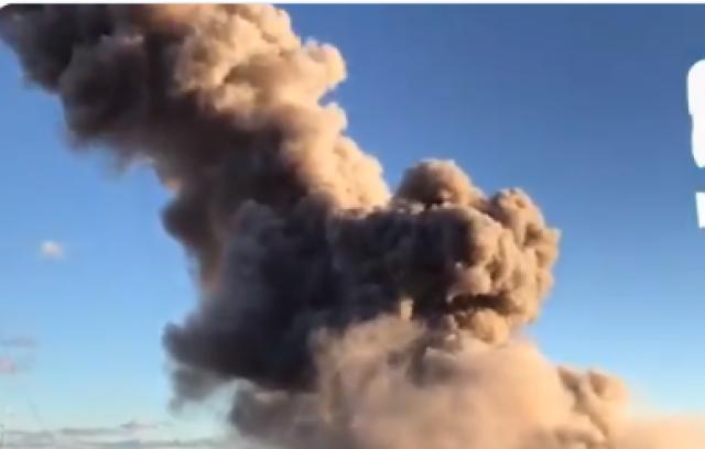 Eksplozija u fabrici, dim nad Sankt Peterburgom VIDEO