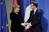 Makron došao kod Merkelove na razgovor