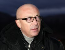 Goran Rakic is seen in K. Mitrovica on Nov. 28 (Tanjug)