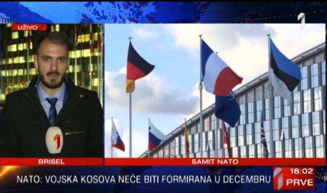"""""""Stav NATO – vojska neće biti formirana u decembru"""" VIDEO"""