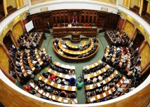 The Serbian National Assembly in Belgrade (Tanjug, file)