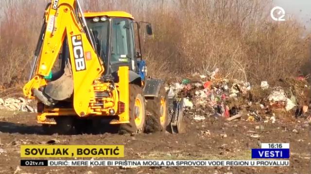 Bogatić odvojio 13 parcela za odlaganje otpada VIDEO