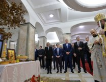 Christmas Eve ceremonies at the Serbian Presidency in Belgrade (Tanjug)