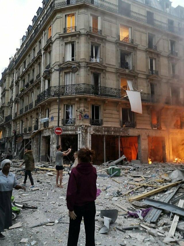 Eksplozija u Parizu, stradalo troje, devet kritično FOTO