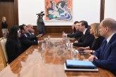 Vučić zahvalio predsedniku Palaua na odluci o Kosovu