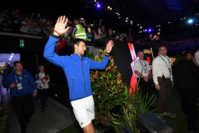 (Photo by Vince Caligiuri/Getty Images for Tennis Australia)