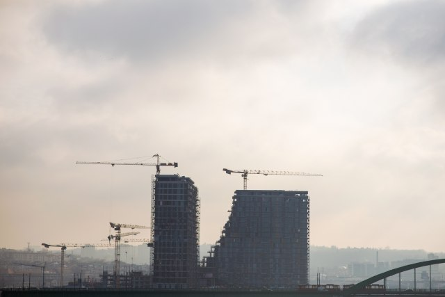 The Belgrade Waterfront construction site (Thinkstock)