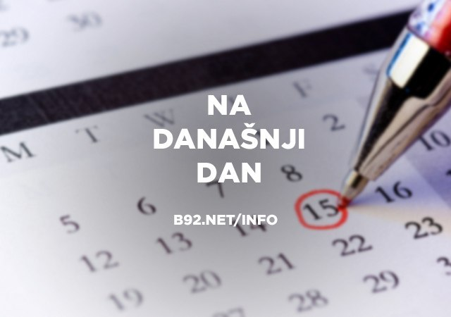 Na današnji dan, 23. april