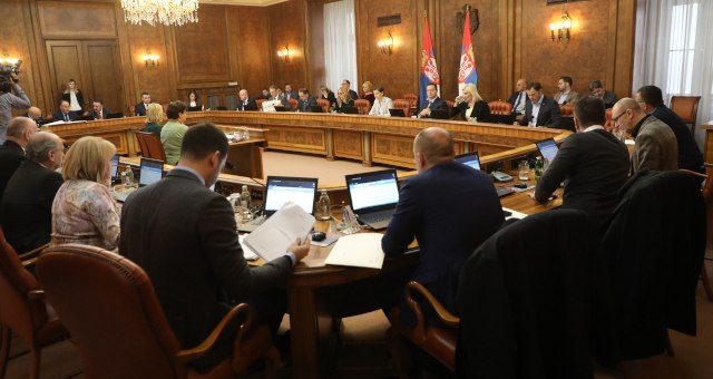 The Serbian government meets in Belgrade on Wednesday (Tanjug)