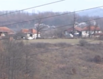 The area of the shooting incident (screenshot, Prva TV)