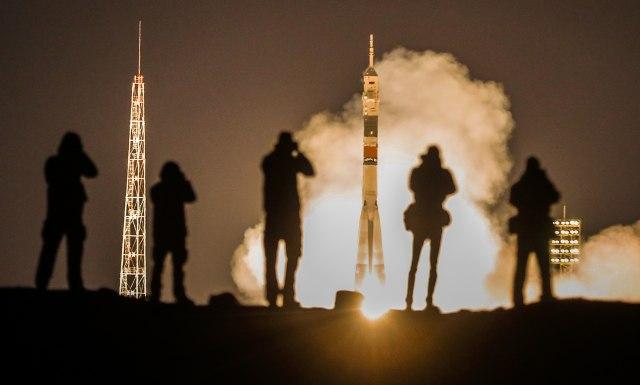"""Raketa """"Sojuz"""" poletela ka Međunarodnoj svemirskoj stanici"""