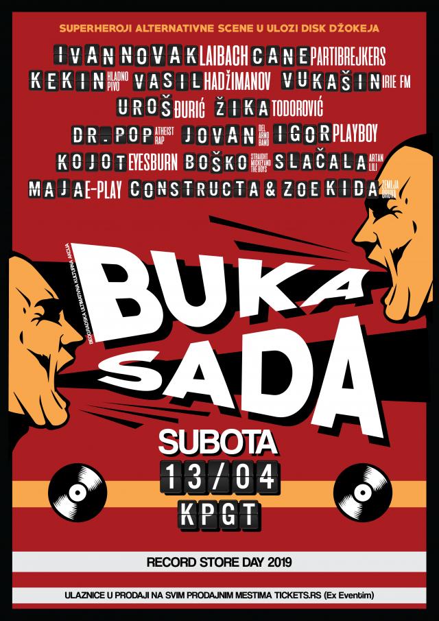 Muzički događaj godine: Beogradska Ultimativna Kulturna Akcija BUKA! SADA!