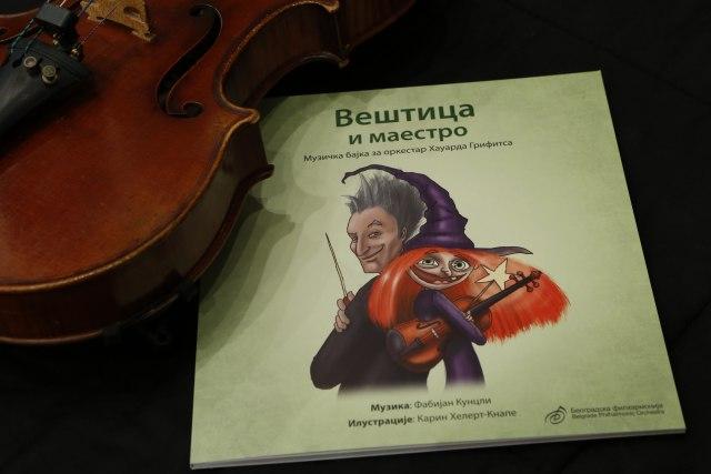 ilustrovana knjiga Veštica i maestro