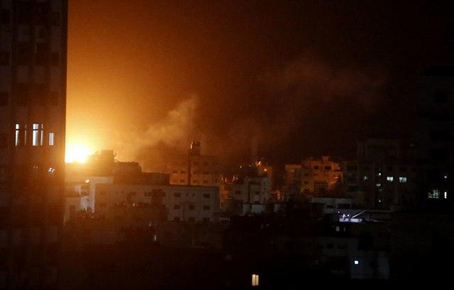 Ozdmazda: Izrael gađao kancelariju vođe Hamasa