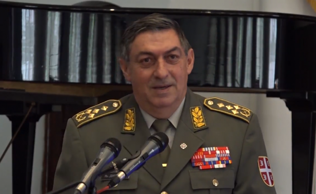 Gen. Ljubisa Dikovic (screenshot, file)