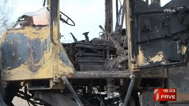 "Pored materijalne štete ""izgorelo"" i 35 radnih mesta VIDEO"