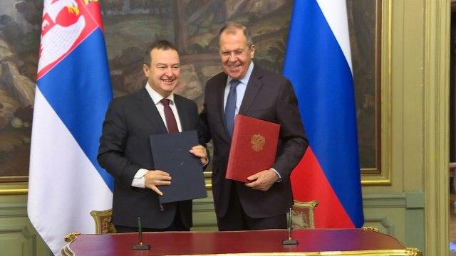 Dačić: Ne možemo se zaštititi bez Rusije