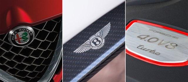 Photo: Alfa Romeo, Bentley, Porsche promo