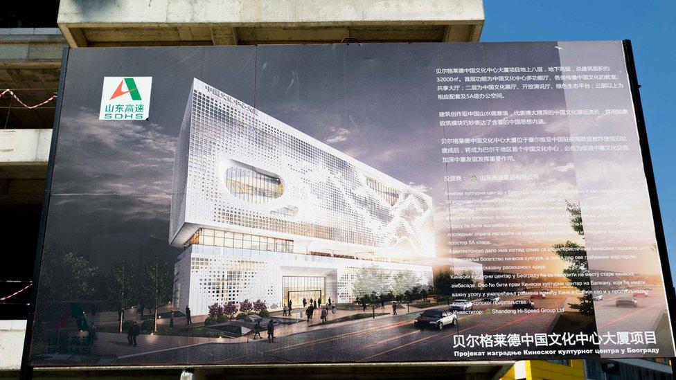 Na mestu nekadašnje ambasade gradi se jedan od najvećih Kineskih kulturnih centara u Evropi/Lazara Marinković/BBC