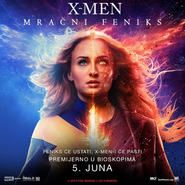 Promo poster za X-Men mračni feniks