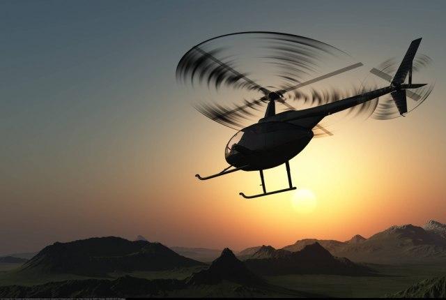Helikopter pao u reku, pilot se spasio