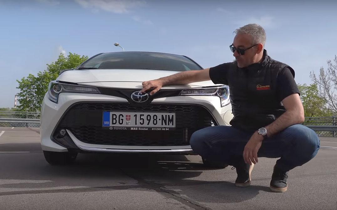 Auto Test Toyota Corolla Novo Lice Najprodavanijeg