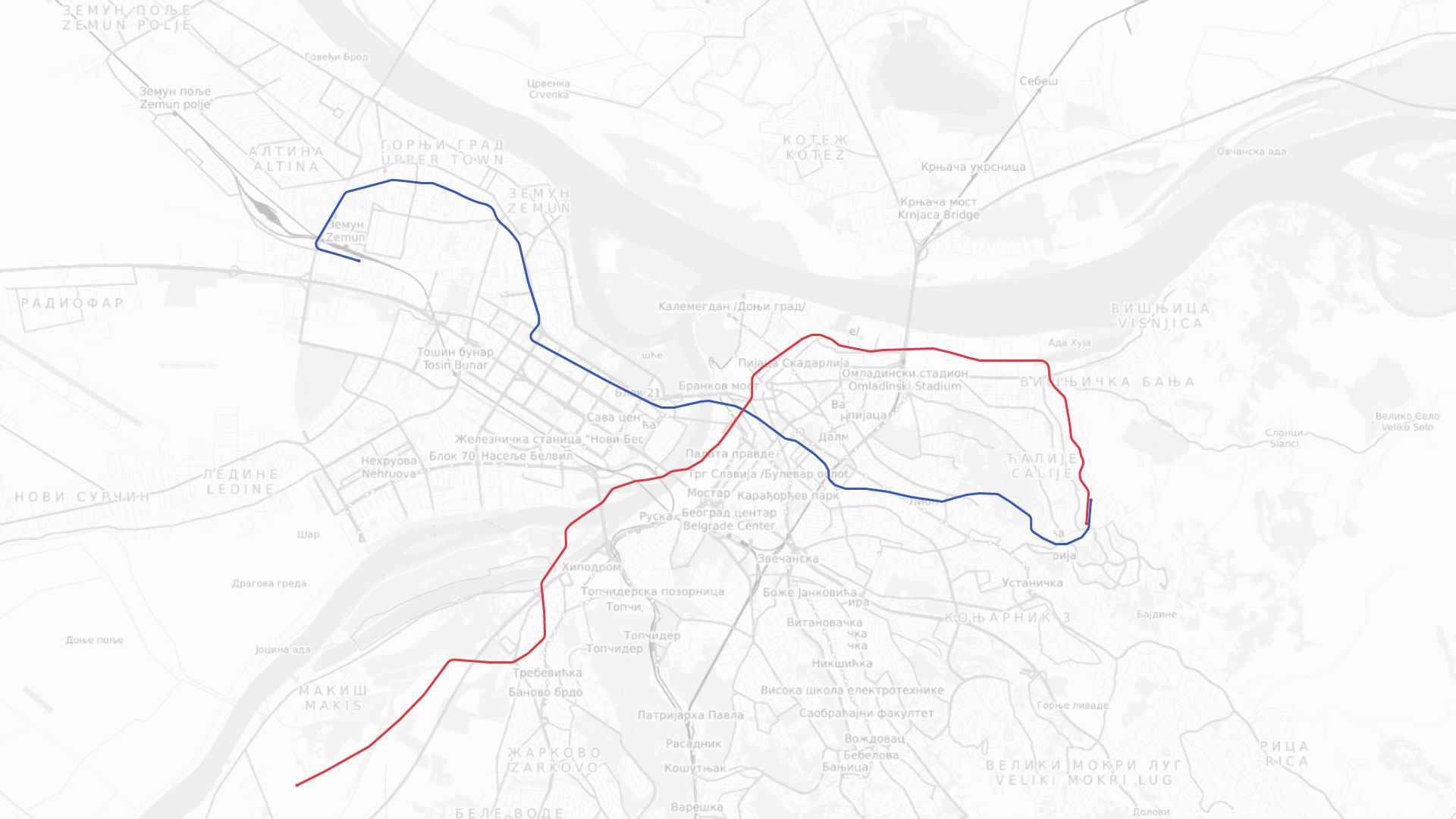 Grad Prihvatio Finalnu Trasu Bg Metroa Tunel Ispod Save