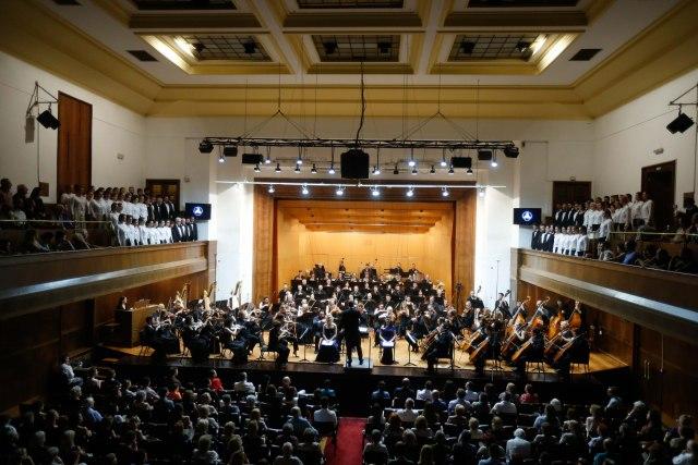 Desetominutne ovacije za Beogradsku filharmoniju