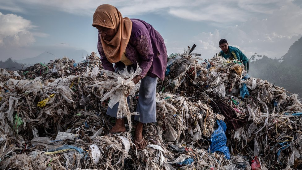 Indonezija je počela da prima više plastičnog otpada iz čitavog sveta otkako je uvedena zabrana u Kini/Getty Images