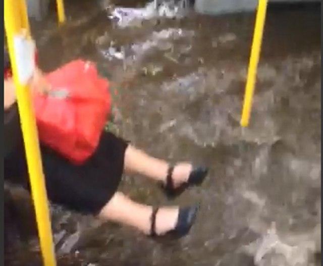 """""""Rečni saobraćaj"""" u Beogradu, ali autobuski VIDEO"""