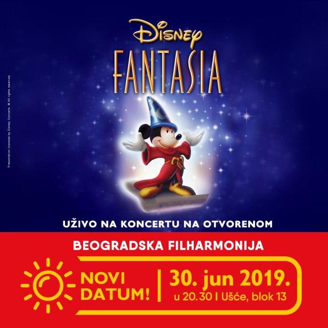 Fantazija Beogradske filharmonije pod vedrim nebom