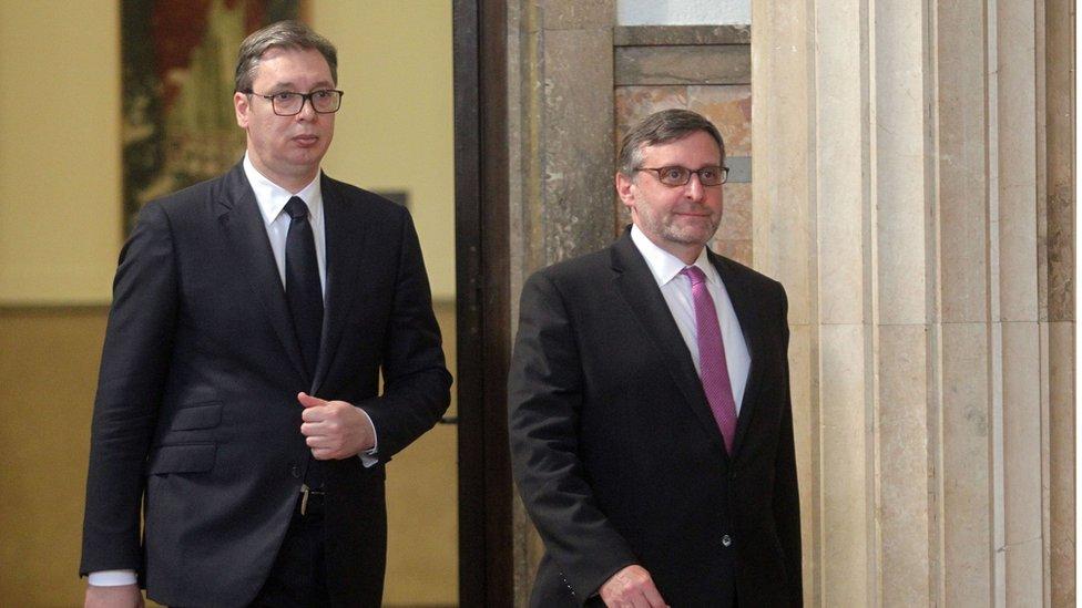 Tokom posete Beogradu sastao se sa predsednikom Srbije Aleksandrom Vučićem i predstavnicima opozicije/Fonet/Aleksandar Barda